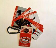 NHL Montreal Canadiens Keychain 1983 Souvenir Renaissance Cards Hockey Players