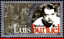 2213 MEXICO 2000 LUIS BUNUEL, FILM DIRECTOR, FAMOUS PEOPLE, MI# 2884, MNH