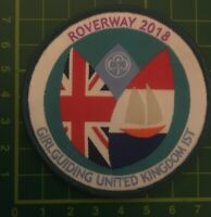 Roverway 2018 The Netherlands Girlguiding UK  IST Badge Scouts Camp Sew Blanket