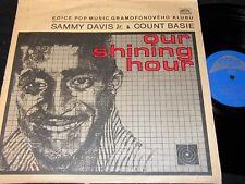 SAMMY DAVIS JR. & COUNT BASIE Our Shining Hour / Czech LP 1972 SUPRAPHON 1130644
