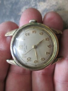 VINTAGE Hamilton GOLD FILLED FANCY LUGS NONRUNNING MENS WRIST WATCH
