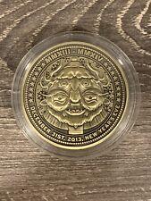 Phish Nyc 12/31/2013 Msg Nye Coin Drew Millward Mint
