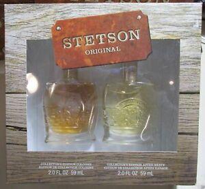NEW Stetson Original Collector's Edition Men's 2pc Decanter Gift Set