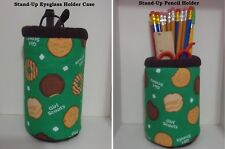 Girl Scout CooKies Eye Glass Case Stand up On Desk or Counter Gift Pencil Holder