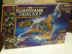 Marvel Guardians Of The Galaxy Milano Starship Vehicle with Star-Lord Hasbro New