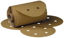"3M 1643 - Stikita?? Gold Disc Roll D/F 01643 6"" P80A 125 discs/roll"