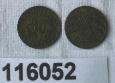 10 Rentenpfennig Spielgeld Münze Weimarer Republik 1923 A (116052)