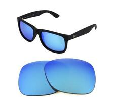NEW POLARIZED REPLACEMENT ICE BLUE LENS FOR RAY BAN 4202 Andy 55mm SUNGLASSES