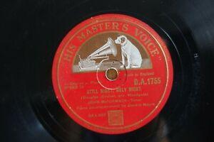 JOHN McCORMAC XMAS 78 STILL NIGHT HOLY NIGHT / CHRIST IN HIS GARDEN HMV DA1755 E