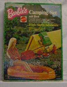 Vintage BARBIE's CAMPINGSET mit OVP - komplett! * 70er Jahre*