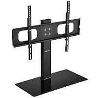 Ollieroo HD02412 Table Top TV Stand for most 27 - 70 inch TVs up to 110 lbs