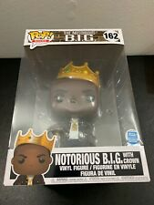 10 Inch Funko Pop! Rocks The Notorious B.I.G. Biggie Smalls #162 Lmtd. Edition!