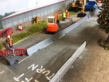 3d Printed Concrete/ Jersey Barrier  Would Suit 1/76. 1/72 Scale And 00 Gauge