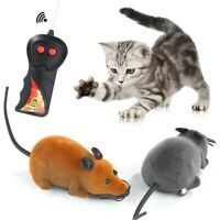 Wireless Remote Control RC Rat Electronic Mouse For Cat Dog Pet Toy new