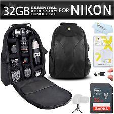 Essentials Accessory Bundle Kit For Nikon D7200, D7100, D7000, D5500, D5300, D52