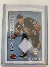 2003-04 Pacific Crown Royale Jason Spezza Ottawa game worn Jersey SP 061/220