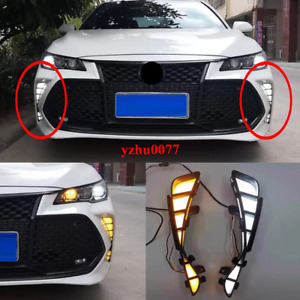 2019-2020 For Toyota Avalon LED DRL Daytime Running Light/Turn signal light 2pcs