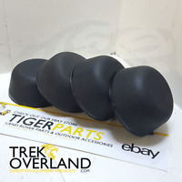 4 x Land Rover Defender Discovery 1 Range Rover Classic Rubber Hub Caps FTC5414