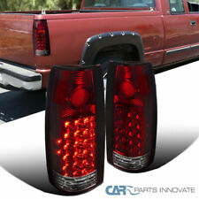 88-98 Chevy GMC C/K C10 Suburban Blazer Tahoe LED Tail Light Rear Lamp Red/Clear