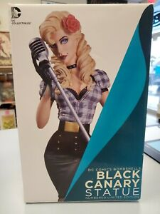 DC Collectibles STATUE BOMBSHELLS BLACK CANARY Numbered Limited Edition