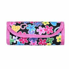 Flower Knit Crocheting Needle Case Holder Crochet Hook Pouch Organizer Bag