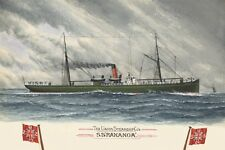 RAKANOA of the UNION SS Co New Zealand digital Art Postcard Modern