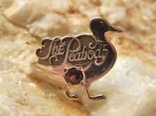 Memphis Employee Pin w/Ruby 2.1g Solid 14k Gold The Peabody Hotel