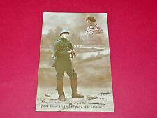 CPA GUERRE 14-18 CARTE PATRIOTIQUE 1917 POILUS Pour mériter ton coeur...
