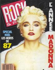 Madonna Rock & Folk Magazine 1988 French