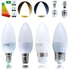 E14 E27 B22 B15 SMD LED Chandelier Candle Bulb Lamp Globe Light Warm/Pure White