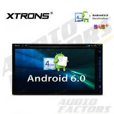"""6.95"""" Double DIN Android Car Headunit DVD Stereo GPS SAT NAV DAB+ Radio WiFi BT"""