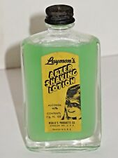 Rare Vintage Antique Unopened bottle Laymon's AFTER SHAVING shave LOTION 1.5 oz