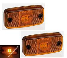 LED Begrenzungsleuchten Gelb/Umrissleuchten/Positionsleuchten Anhänger LKW