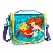 AUTHENTIC DISNEY PRINCESS ARIEL THE LITTLE MERMAID KIDS LUNCH BAG INSULATED NEW