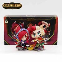 Official League of Legends Rakan And Xayah Figurine LOL Statue Action Figure In