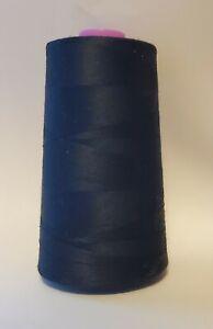 6000 Yard Spool Venus BLACK Sewing Thread  All Purpose 100% Polyester USA Made