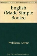 English (Made Simple Books),Arthur Waldhorn, A. Zeiger- 0491019203