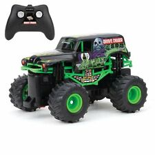 New Bright F/F Monster Jam Grave Digger Radio RC Remote Control Truck 1:43 Scale