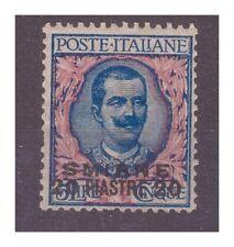Smyrna 1909 - Plates 20 Su Lire 5 New