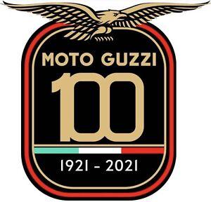 Adesivo Centenario Moto Guzzi Vinile