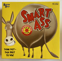 SMART ASS The Ultimate Trivia New Look Board Game University Games 01360 USED