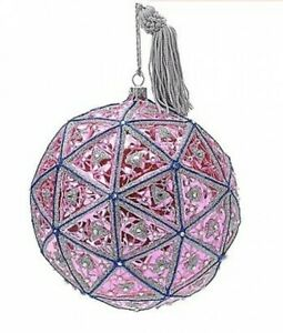 """Waterford 2018 Times Square Masterpiece Ball Ornament Limited Ed 6"""" # 40028578"""