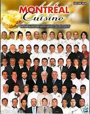 Montreal Cuisine Menus et Recettes des restaurant de Montréal métropolitain 2010