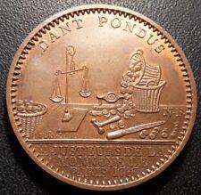 Médaille publicitaire - DANT PONDUS administration des monnaies - Paris - SUP