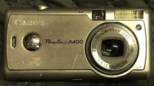 Canon PowerShot A4000 16 MP Digital Camera Green Point & Shoot 8x Optical Zoom