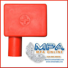 BATTERY TERMINAL COVER - POSITIVE LEFT FLAG ENTRY - HIGH QUALITY DURABLE PVC