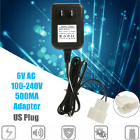 6V AC Charger Adaptor Power Supply US Plug For Avigo Kid Toy Car Battery
