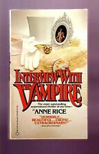 INTERVIEW WITH THE VAMPIRE (Anne Rice/1st US pb/#1 Louis Lestat/vampire)