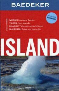 Island, Reykjavik / Baedeker Reiseführer mit Reisekarte