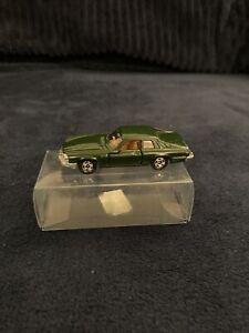 Vintage 80s Tomy Tomica No -24 Jaguar XJS BRG Green 1:64 Made In China